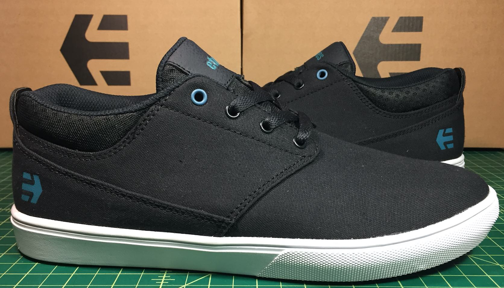 Etnies Vegan Skateboard Shoes Canvas Jameson MT Bloodline