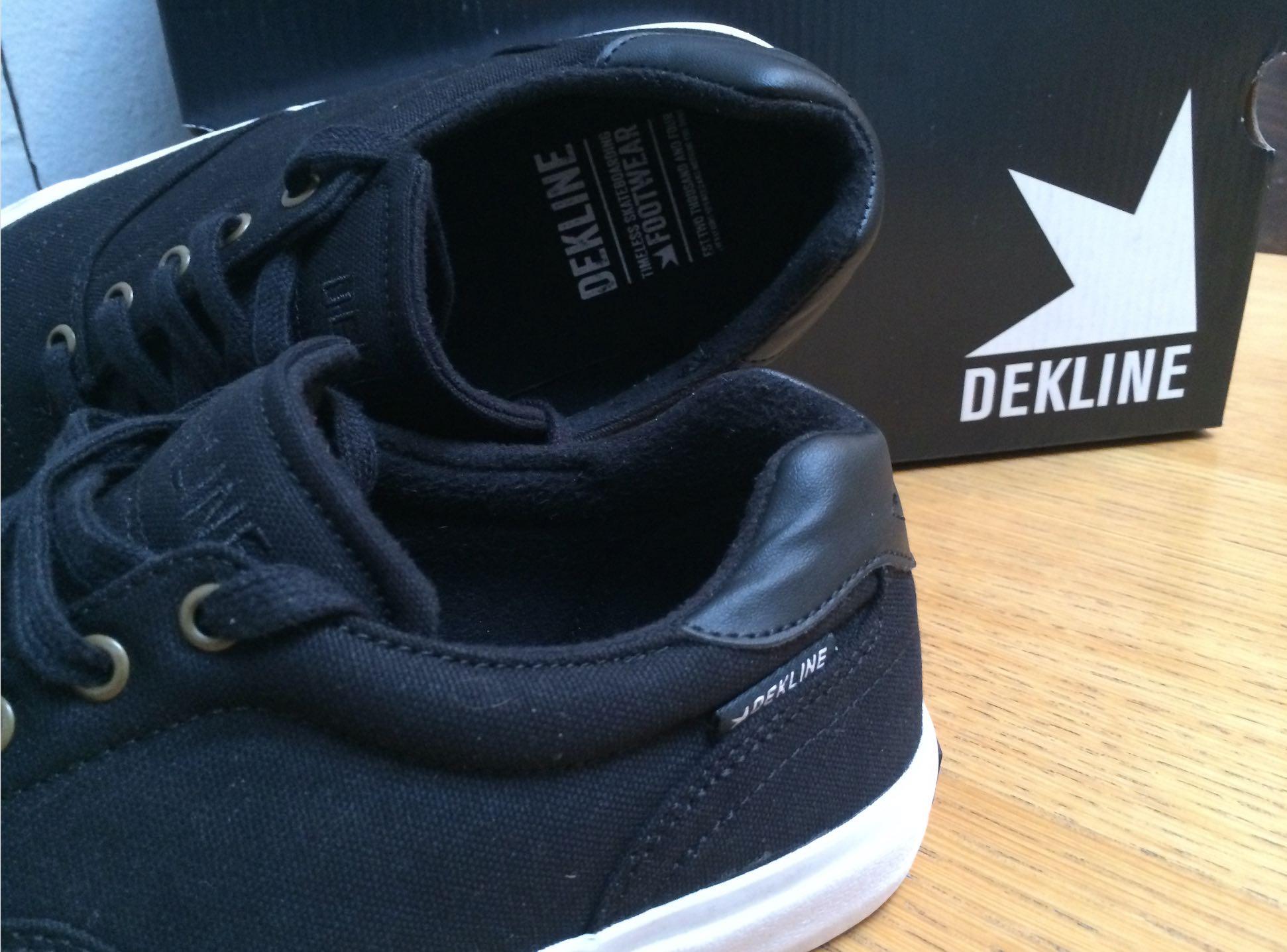 dekline vegan shoes skateboard