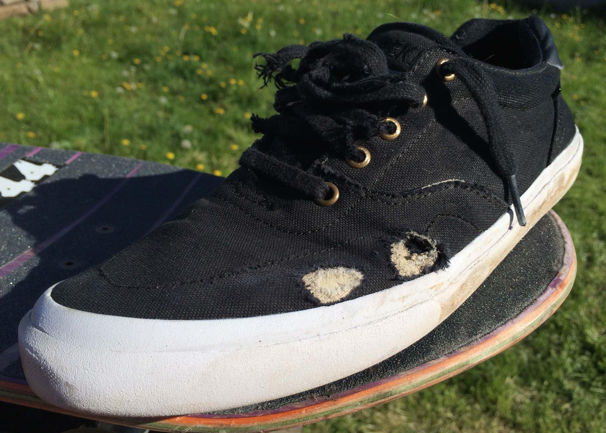 vegan skate shoes dekline shoe-goo