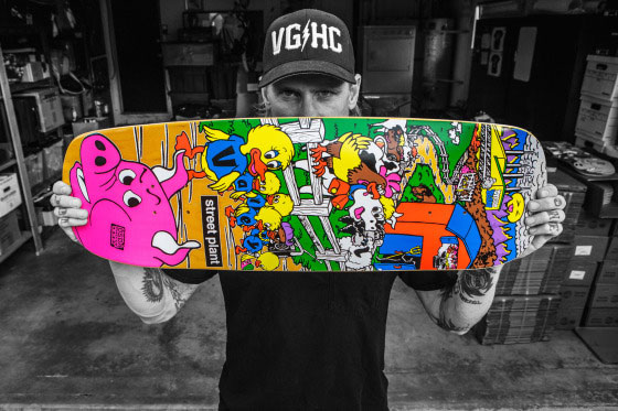 Mike V Barnyard deck