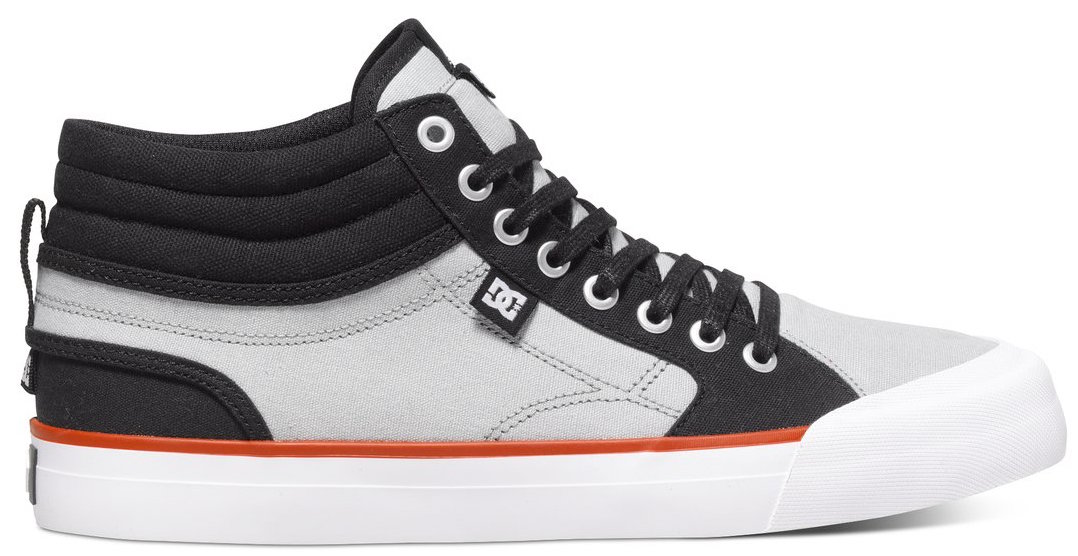 DC Evan Smith Skateboard Shoes Vegan hi-top Pittsburgh skater