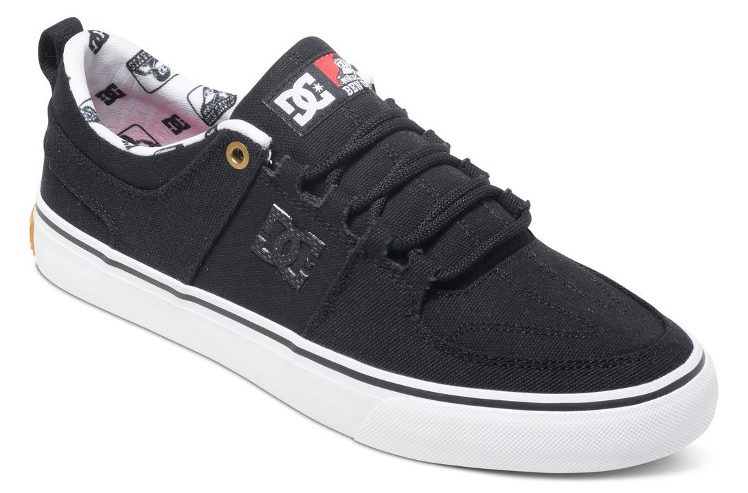DC shoes vegan colorway canvas Lynx Vulc x Ben Davis