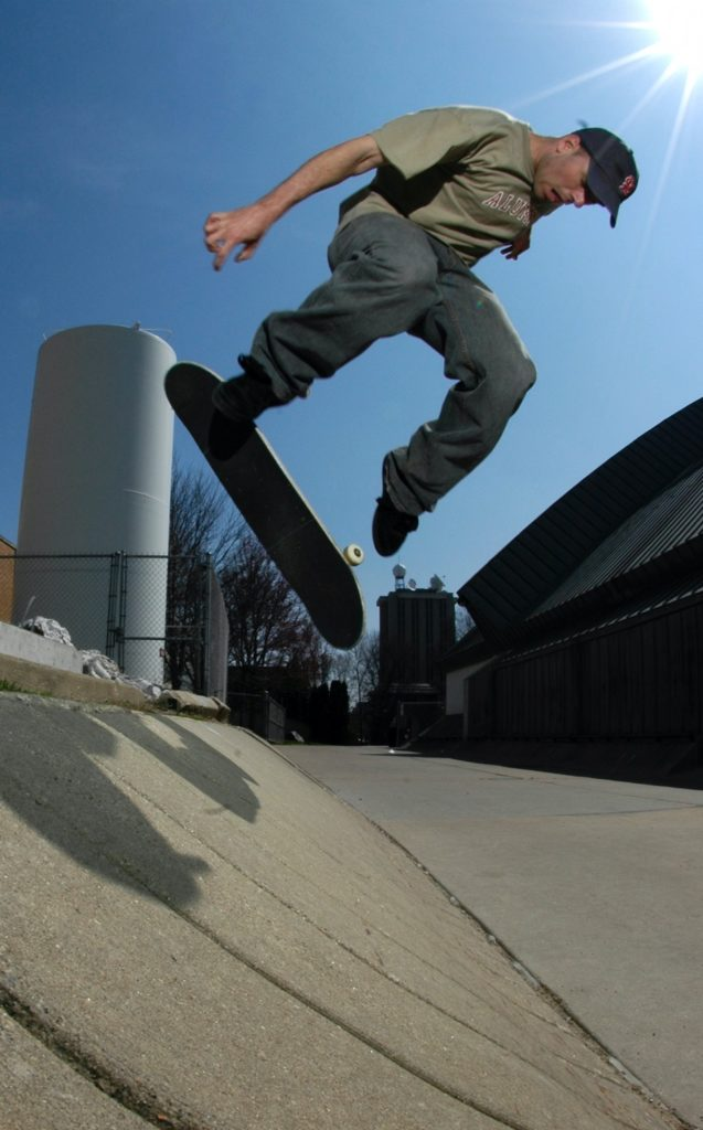 David Mayhew vegan skateboarder Osiris D3