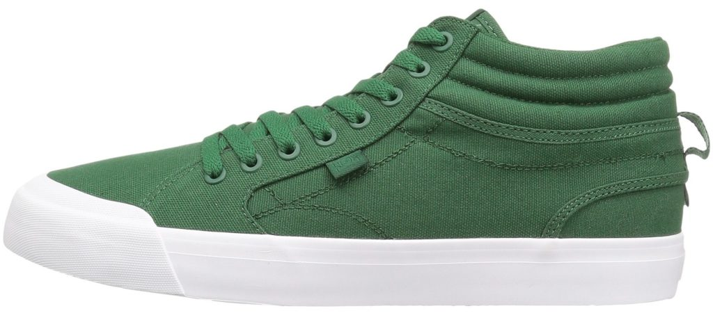 DC Evan Smith Vegan Skateboard Shoes Canvas Hi-top