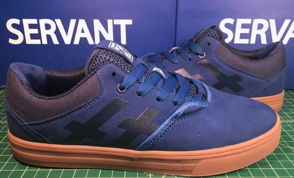 Servant Dagon vegan suede skateboard shoe